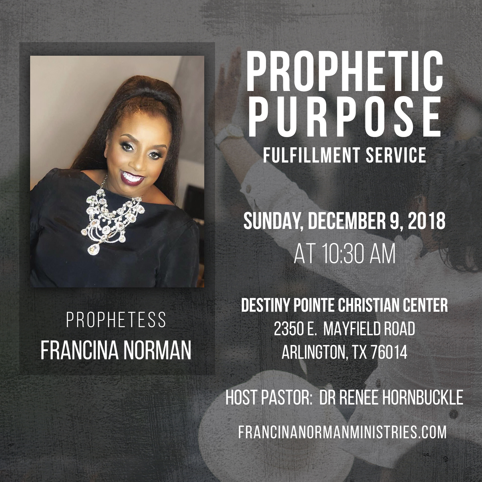 Welcome to Francina Norman Ministries